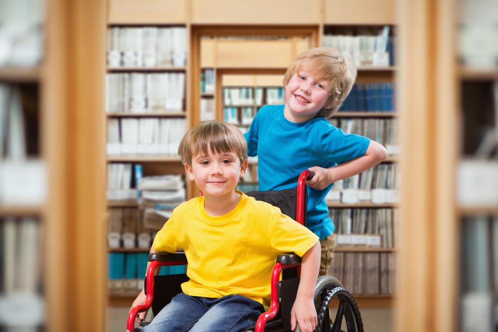 дети-инвалиды в школе